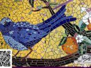 تکتیک-موزاییک-,--پرنده-کد-۹۵۷