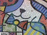 تکنیک-موزاییک-,-نقاشی-کودک--کد۹۶۸