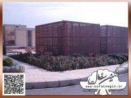 طرح کتیبه سفالی ، طرح برجسته سفال ، پروژه شهرک علمی تحقیقاتی اصفهان