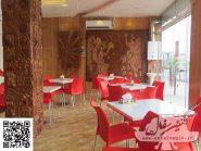 طرح کتیبه سفالی ، طرح سفال نقش برجسته ، پروژه پیتزا نیک داد فولادشهر - کد ۹۰۳