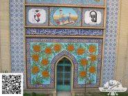 کاشی-مینیاتور،-ورودی-مسجد-کد-۱۲۳۱