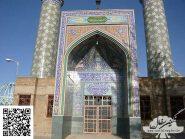 کاشی-هفت-رنگ،-سر-در-و-مناره-مسجد-کد-۱۲۴۳