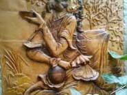 pottery , ceramic Relief , Miniature design