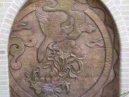 pottery , ceramic Relief , Miniature design facades