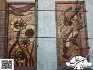 pottery , pottery Relief ,  Facade