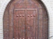 pottery , pottery Relief ,  Traditional door designs