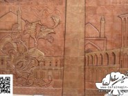 pottery , pottery Relief ,   naghsh Jahan Square