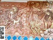 کتیبه سفال , هفت خان رستم ۲ , طرح زورخانه ای