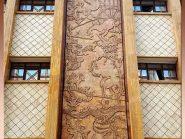 کد ۰۴ - تابلو سفال , سفال روی دیوار