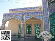 کاشی هفت رنگ و معرق , مسجد مرکزی دانشگاه نجف آباد , سفال