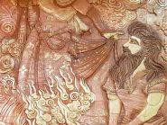 کتیبه سفال , خان چهارم هفت خان رستم , سفال