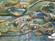 الفخار ،  السمک