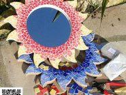 اللوحه، فسیفساء -، - الشمس رمز -۹۱۲