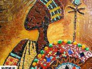اللوحه، فسیفساء -، - الهندی رمز -۹۲۲