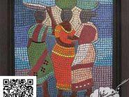 اللوحه، فسیفساء -، - روما رمز -۹۲۴