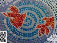 الهندسه الفسیفساء  الأسماک رمز -۹۹۱