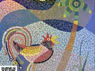 الهندسه الفسیفساء الدیک رمز -۹۷۰