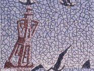 الهندسه الفسیفساء  الطیور رمز -۹۷۱