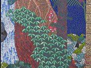 الهندسه الفسیفساء الغابات رمز -۹۵۱