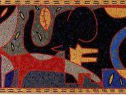 الهندسه الفسیفساء  تصمیم التکعیبیه رمز -۹۵۶