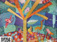 الهندسه الفسیفساء شجره رمز -۹۸۴