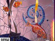 للکسر البلاط -، - الأسماک رمز -۹۲۹