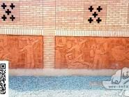 Ceramic reliefs gymnasium Kojan-02