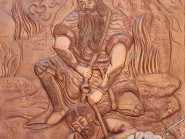 Cinquième épreuve  Défaite du héros Olâd par Rostam