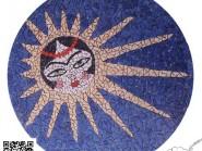 Génie-mosaïque -, - Khatoon code -972