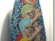Génie-mosaïque -, - conception-cubisme code -988