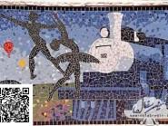 Génie-mosaïque -, - le train code -953