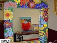 Génie-mosaïque -, - miroir code -980