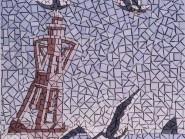 Génie-mosaïque -, - oiseau code -971