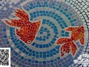 Génie-mosaïque -, - poissons code -991