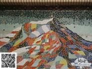 Ingegneria mosaico -, - montagna-code -964