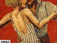 Peinture, mosaïque -, - Ballerina code -903