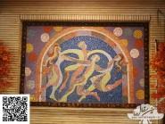Peinture, mosaïque -, - Guerre code -919