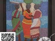 Pittura, mosaico -, - Roma-code -924