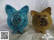 Projet par la poterie -, - les statues code -617