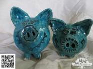 Projet par la poterie -, - statue code -615