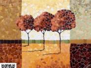 Tile brisé -, - code en arbre -934