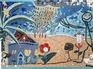 Tile brisé -, - la peinture enfant code -945