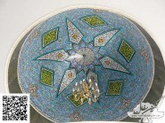 Tile-mosaic, -Zyr-dome-mosque-Code 1201