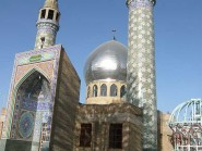 Tile-sept-couleur-et-dôme, -Mnar-mosquée code -1244