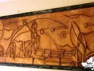 ceramica , Cubismo vista in pianta della lobby