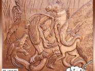 ceramica , Decorazione d'interni