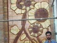 ceramica ,  Progetto girasole