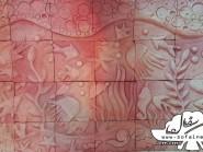 ceramica , acquario design