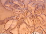 il sesto capitolo  la battaglia di Rostam e Arjang div