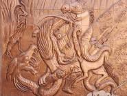 il terzo capitolo la battaglia di Rostam ed il drago